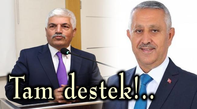 BAYKARA'DAN ZEYBEK'E TAM DESTEK!..