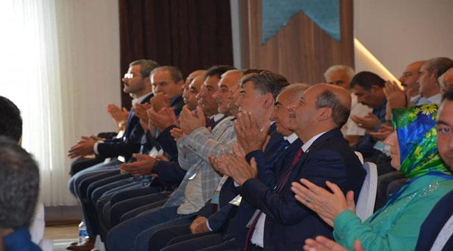 BOZKURT AK PARTİ YEREL YÖNETİMLER VE İSTİŞARE TOPLANTISINA KATILDI
