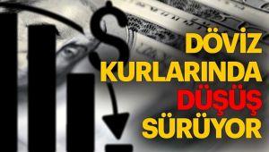 DOLAR VE EURO DÜŞME EĞİLİMİNDE!..