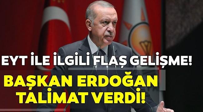 EYT'DE FLAŞ GELİŞME!..