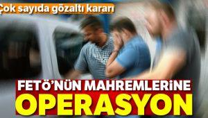 FETÖ'NÜN MAHREM İMAMLARINA OPERASYON