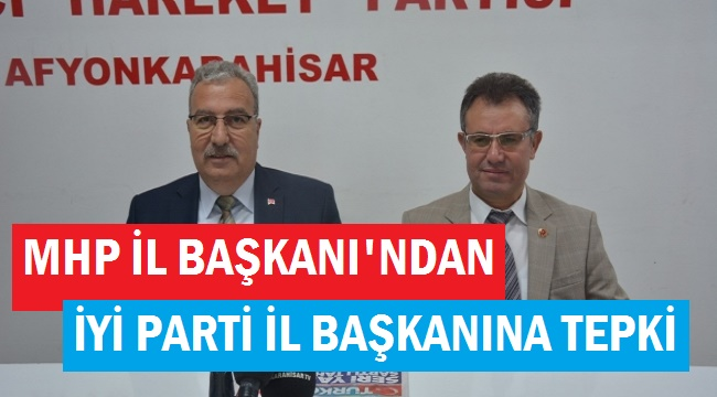İYİ PARTİ İL BAŞKANI CEVAP VERSİN!..