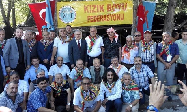 MHP AFYON TEŞKİLATI ERTUĞRUL GAZİ'Yİ ANDI