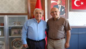 ÖZDİLEK İL GENEL MECLİSİ BAŞKANI BURHANETTİN ÇOBAN'I ZİYARET ETTİ