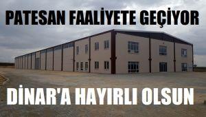 PATESAN FAALİYETE GEÇİYOR!..