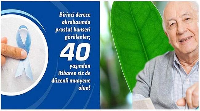 PROSTAT KANSERİNE DİKKAT!..