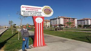 ŞEHİT YASİN ÇUBUK'UN ADI AFYONKARAHİSAR'DA BİR PARKA VERİLDİ