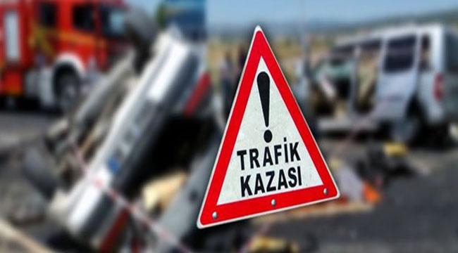 ŞUHUT'TA TRAFİK KAZASI: 5 YARALI