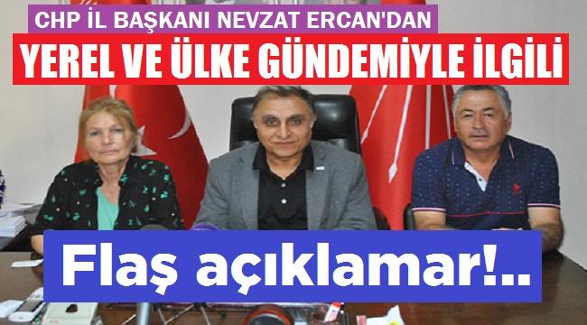 YEREL VE ÜLKE GÜNDEMİYLE İLGİLİ FLAŞ AÇIKLAMALAR!..