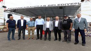 ZEYBEK FESTİVAL ALANINDA İNCELEMELERDE BULUNDU