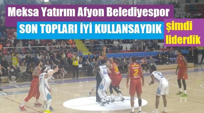 AFYON, SON TOPLARI İYİ KULLANSAYDI ŞİMDİ LİDERDİ!..