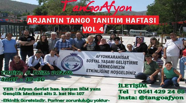 ARJANTİN TANGOSU AFYON'A GELİYOR!..