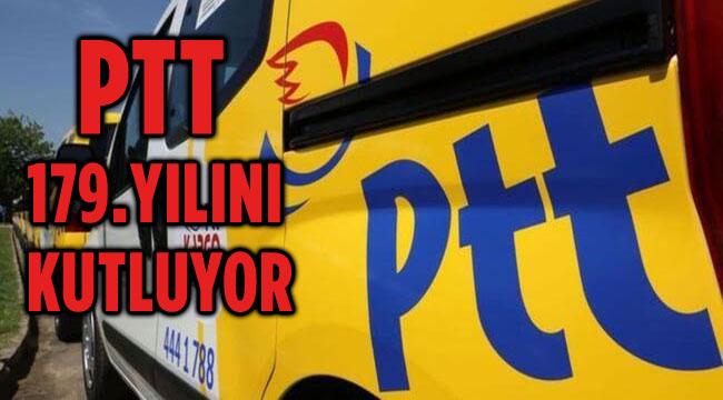 PTT 179. YILINI KUTLUYOR