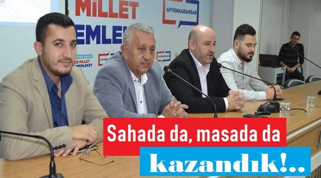 SAHADA DA, MASADA DA KAZANDIK!..