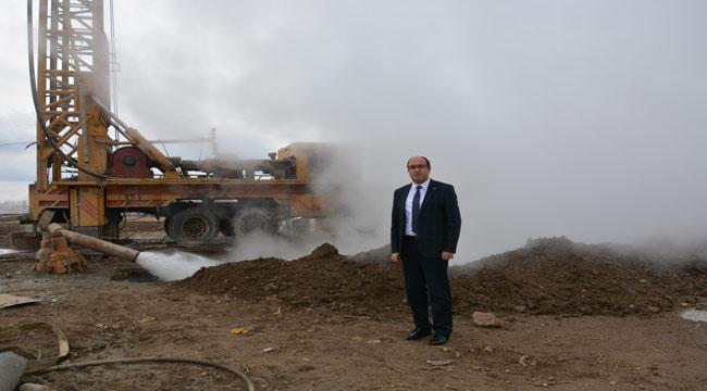 SANDIKLI'DA JEOTERMAL ENERJİ İLE ISINMA SEZONU BAŞLADI