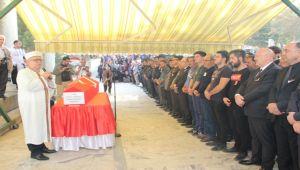 ŞEHİT POLİS MEMURU AFYONKARAHİSAR'DA TOPRAĞA VERİLDİ