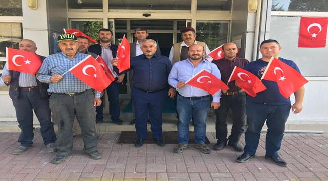 SİNANPAŞA BELEDİYE MECLİSİ'NDEN BARIŞ PINARI HAREKATI'NA DESTEK