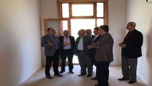 VALİ MUSTAFA TUTULMAZ DİNAR'DA İNCELEMELERDE BULUNDU