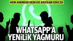 WHATSAPP'A 4 YENİ ÖZELLİK!