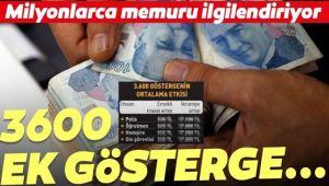 3600 EK GÖSTERGE YENİDEN GÜNDEMDE!..
