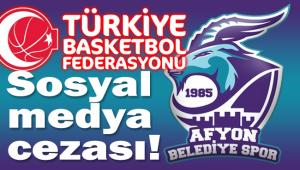 AFYON BELEDİYE SPOR KULÜBÜNE İHTAR!..
