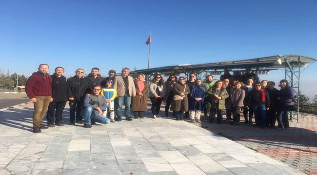 AFYONKARAHİSAR MTAL ÖĞRETMENLERİ HIDIRLIK SEYİR RESTAURANT'TA KAHVALTI YAPTI