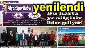 AFYONSPORHABER, SİZLER İÇİN YENİLENDİ