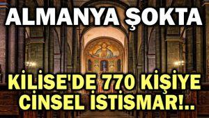 ALMANYA'DA KİLİSE'DE 770 KİŞİYE CİNSEL İSTİSMAR!..