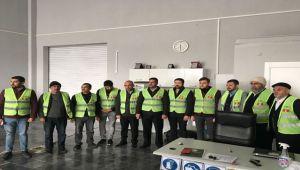 ATSO'DA MOTORLU KARA TAŞITI YETERLİLİK BELGESİ SINAVI YAPILDI