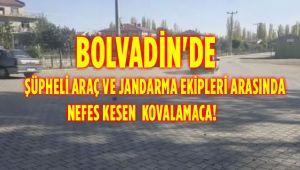 BOLVADİN'DE NEFES KESEN KOVALAMACA