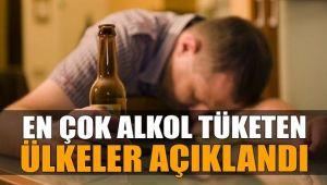 DÜNYA'NIN EN ÇOK VE EN AZ ALKOL TÜKETEN ÜLKELERİ AÇIKLANDI