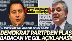 GÜLTEKİN UYSAL'DAN ABDULLAH GÜL VE ALİ BABACAN AÇIKLAMASI!..