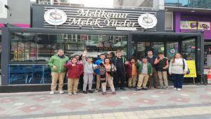 HAMİDİYE ORTAOKULU ÖZEL EĞİTİM SINIFI ÖĞRENCİLERİNDEN DOWN CAFE ZİYARETİ