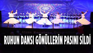 RUHUN DANSI GÖNÜLLERİN PASINI SİLDİ
