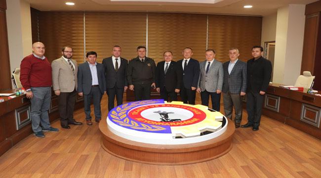 TUĞGENERAL ALP'TEN ATSO'YA ZİYARET