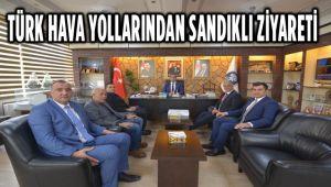TÜRK HAVA YOLLARINDAN SANDIKLI ZİYARETİ