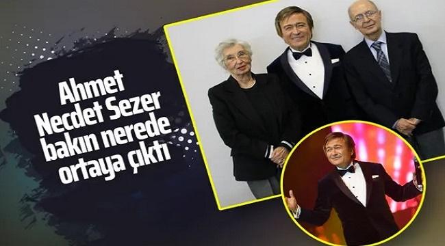 AHMET NECDET SEZER, EROL EVGİN KONSERİNDE