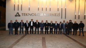 ATSO HEYETİ TOBB BORSA MECLİS ÜYELERİ BİLGİLENDİRME SEMİNERİ'NE KATILDI