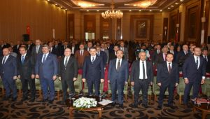 BAKAN PAKDEMİRLİ TARIM ORMAN SEKTÖRÜ DEĞERLENDİRME TOPLANTISI'NA KATILDI