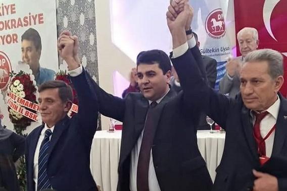 İŞTE DEMOKRAT PARTİ'NİN YENİ İL YÖNETİMİ