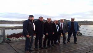 MHP'Lİ BAŞKANLAR DÖĞER'DE BULUŞTU