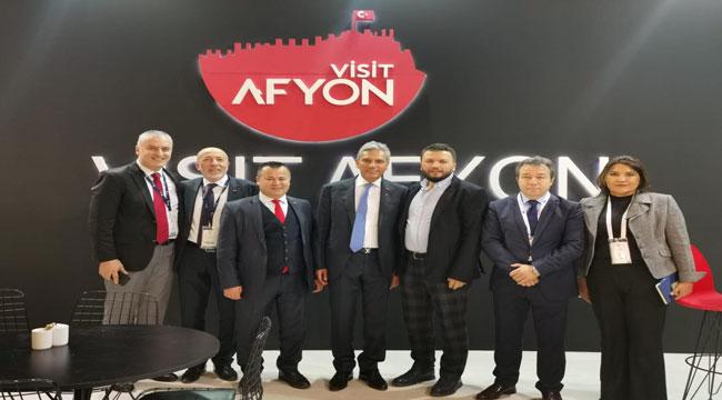 TRAVEL TURKEY İZMİR FUARI'NDA AFYONKARAHİSAR STANTLARI YERİNİ ALDI
