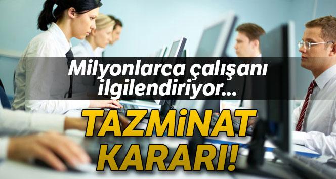 YARGITAY'DAN ÖNEMLİ KARAR!..