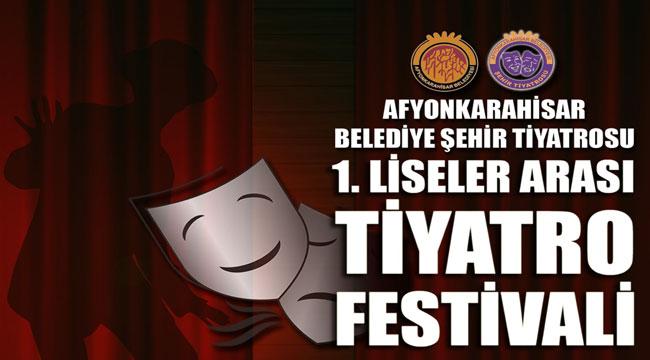 AFYON'DA TİYATRO FESTİVALİ DÜZENLENECEK
