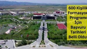 AFYON KOCATEPE ÜNİVERSİTESİ 2020 FORMASYON DUYURUSU