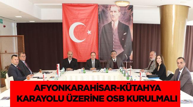 AFYONKARAHİSAR STK TEMSİL HEYETİ'NİN İLK TOPLANTISI YAPILDI