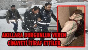 MECİDİYE'DEKİ DOMUZ BAĞI CİNAYETİ ÇÖZÜLDÜ!..