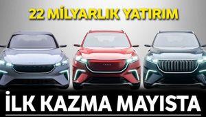 GEMLİK'TE İLK KAZMA MAYISTA