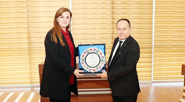 HÜSNÜ SERTESER'E TEŞEKKÜR ZİYARETİ