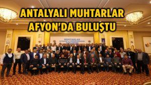 KEPEZ MUHTARLAR BULUŞMASI AFYON'DA YAPILDI
